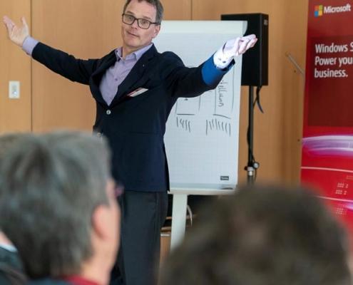 Vertriebstraining mit Team Unger - Fujitsu