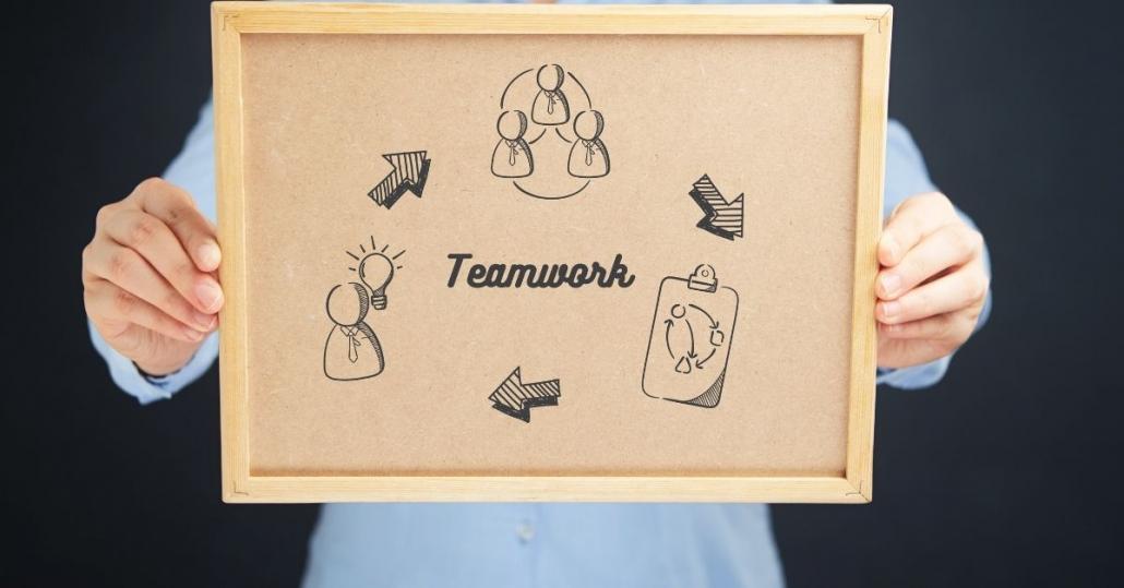 Teamwork im Vertrieb