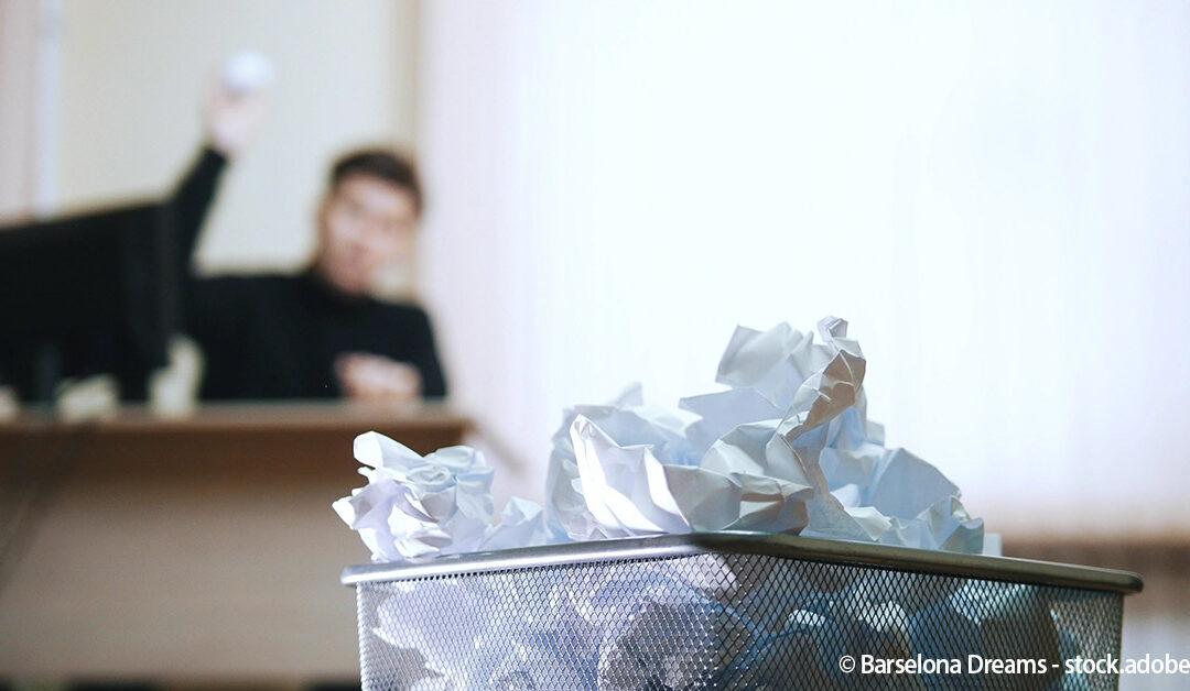 So vermeiden Sie Angebote für den Papierkorb